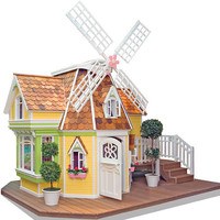 Sophie&#x27;s Magical Windmill Playhouse