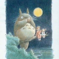 My Neighbor Totoro Movie Poster Print - 11x17