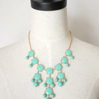 amazinglife  Vintage Bubble Bib Candy Color Necklace