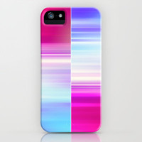 The Sound of Light and Color | BLUE-RED iPhone &amp; iPod Case by  VIAINA