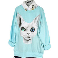 Kitty Candy Color T-Shirt from FloralKiss