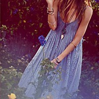 Free People Crossing Boundaries Maxi Dress