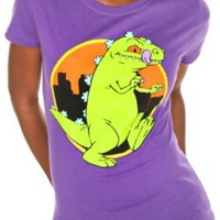 Rugrats Reptar City Tee