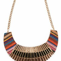 layered tribal necklace set