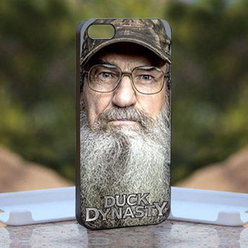 robertson duck dynasty print on hard cover iphone 4 4s black case duck