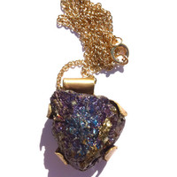 Chalcopyrite Necklace