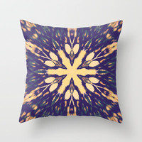 Nature Burst Throw Pillow by Abstracts by Josrick
