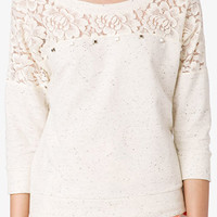 Heathered French Terry Pullover | FOREVER 21 - 2052287769