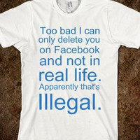 Illegal - ALLStopsLeadHere! - Skreened T-shirts, Organic Shirts, Hoodies, Kids Tees, Baby One-Pieces and Tote Bags