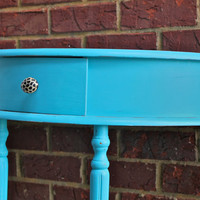 Turquoise Table by AquaXpressions on Etsy