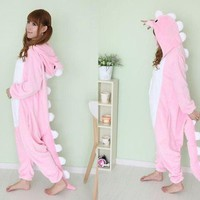 Hot unisex Adult Onesuit Kigurumi Pajamas Anime Cosplay Costume Dress Sleepwear