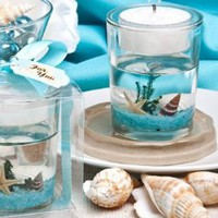 Amazon.com: Stunning beach-themed candle favor, 1: Home &amp; Kitchen