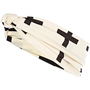 Cream cross print stretch hair band - hair accessories - accessories - women