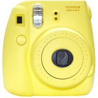 Amazon.com: New Model Fuji Instax 8 Color Yellow Fujifilm Instax Mini 8 Instant Camera: Camera &amp; Photo