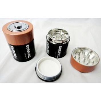 3 Parts, Battery herb tobacco grinder