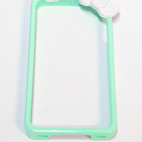 Mint Hello Kitty Style iPhone 4 Case by numbera - Chictopia