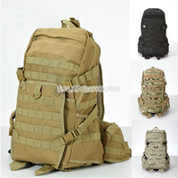 Outdoor Tactical Molle Camouflage backpack shoulders Sports Camping Hiking Bag