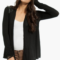 On My Shoulders Contrast Cardigan $40