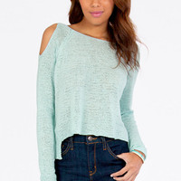 Shoulder The Way Out Sweater $46