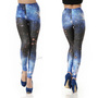 Classic Galaxy Legging Pant Blue