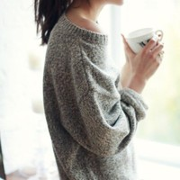 Chunky Sweaters as Outerwear
