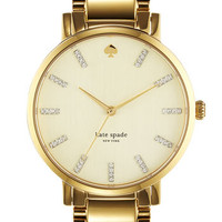 kate spade new york 'gramercy' round bracelet watch | Nordstrom