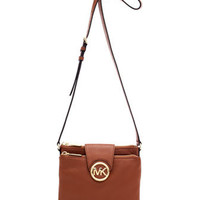 MICHAEL Michael Kors  Large Fulton Pebbled Crossbody
