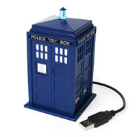 Doctor Who Tardis 4-Way USB Hub at Firebox.com