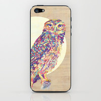Owl  iPhone &amp; iPod Skin by Jacqueline Maldonado
