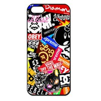 Obey All Brands Apple Iphone 5 case cover