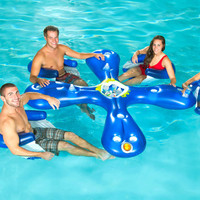 "Rue La La - AVIVA Sports ""Ahh-Qua Bar"" Inflatable Water Bar & Seats"