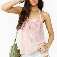 Desert Rose Crochet Top