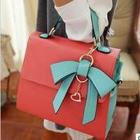 Korea dimensional bow handbag new  FSBB210