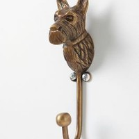 Curious Scottie Hook?-?Anthropologie.com