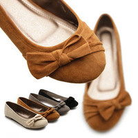 NEW Womens Shoes Ballet Flats Loafers Cute Ribbons Comfortable Multi Colored