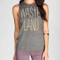 WORKSHOP Wasteland Womens Muscle Tee