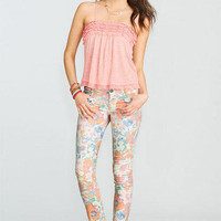 Country Floral Skinny Jean
