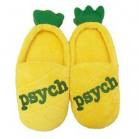 Psych Pineapple Slippers