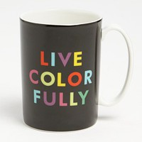 kate spade new york 'things we love™ - live colorfully' mug | Nordstrom