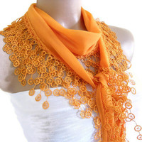 Traditional Turkish-style, Scarf, Necklace scarves,Headband, Orange, fashion 2012, Special Fashion