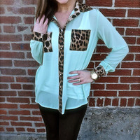 Mint to Be for Me (Leopard) | The Rage