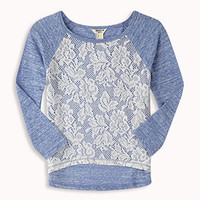 Crocheted Raglan Top