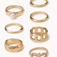 High Polish Ring Set | FOREVER 21 - 1058336885
