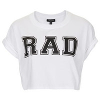 Rad Crop Tee - Jersey Tops  - Clothing