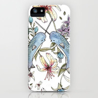 Narwhal pattern iPhone &amp; iPod Case | Print Shop