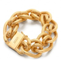 Coach :: Twist Link Bracelet