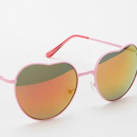 Color Gradient Heart Shape Sunglasses