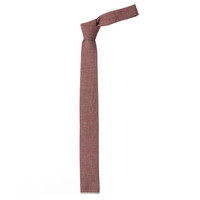 The Hill-Side -  Plum Chambray Tie
