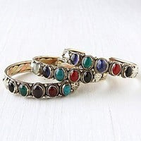 Multi Stone Skinny Cuff at Free People Clothing Boutique