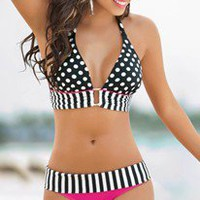 Designer Swimwear 360 - Amelie Halter Bikini by Sandoratto Swimwear